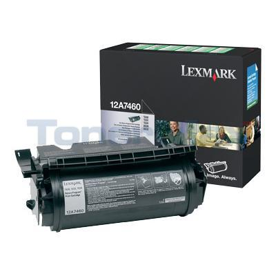 LEXMARK T630 TONER CARTRIDGE BLACK RP 5K
